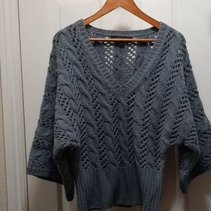 Express hand knit sweater